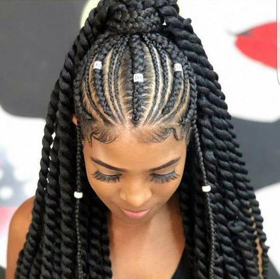Cornrows 19 Goddess Braids Hairstyles For Black Women Curly Craze