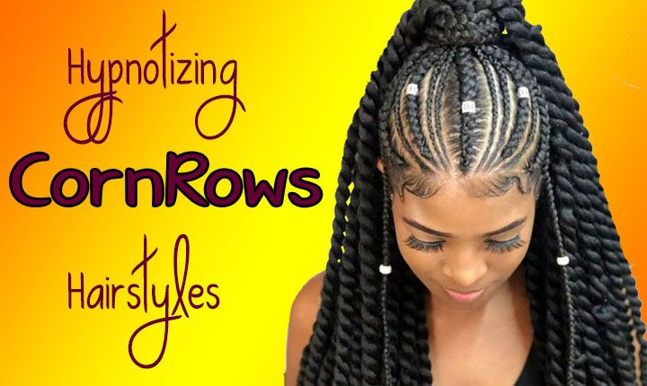 Cornrows | 19 Goddess Braids Hairstyles for Black Women