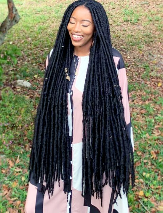 Long Faux Locs