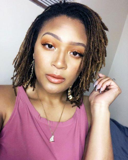 Short Hairstyles for Black Women-Sisterlocks