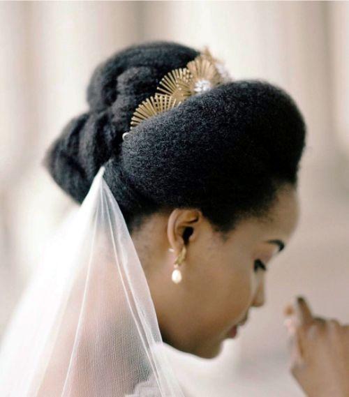 Wedding Afro