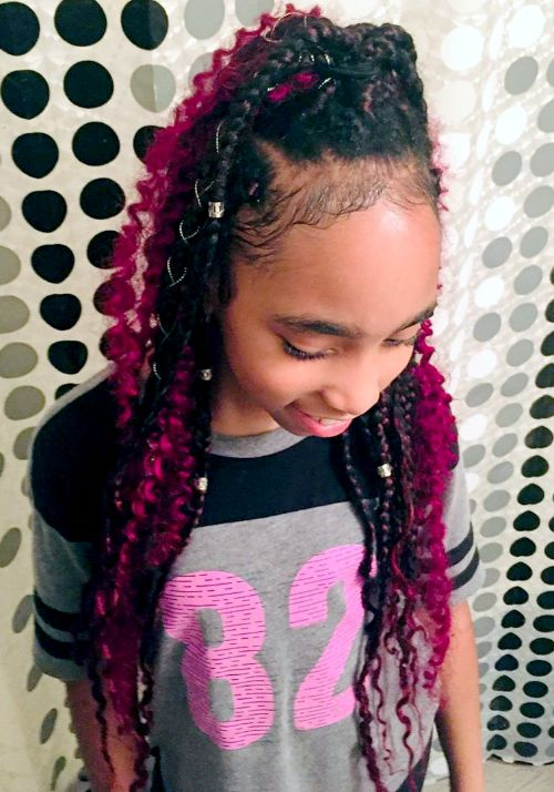 Braids with Beads- Most used Cute Hairstyles for Black Girls