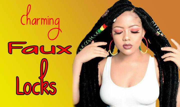 Faux Locs: 24 gallant Locs hair Ideas for Black Women