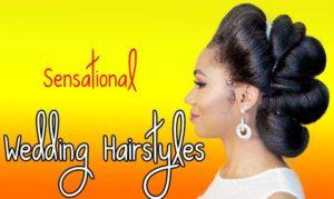 Black Wedding Hairstyles | Killer Wedding Hair Ideas for You