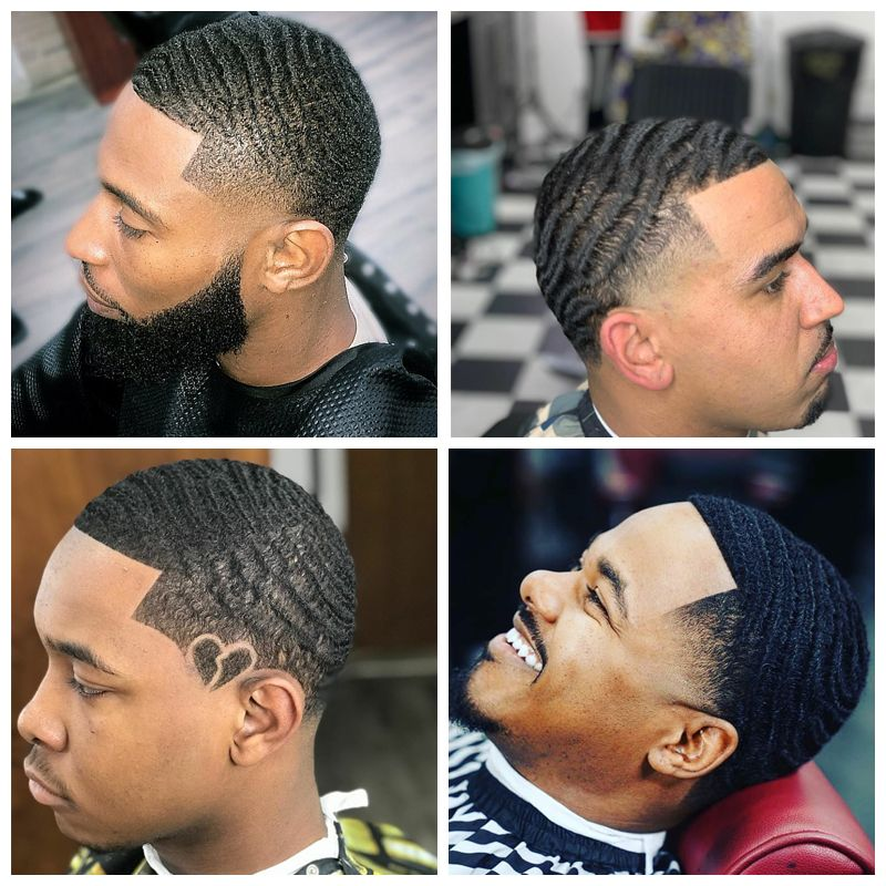 Black Men Haircuts Waves