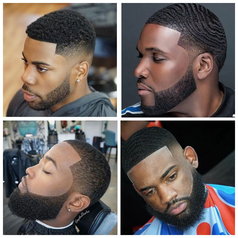 Haircut with Beards : black haircuts
