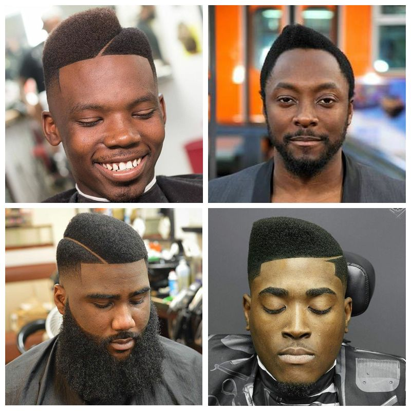 Curved Flat Top Haircuts