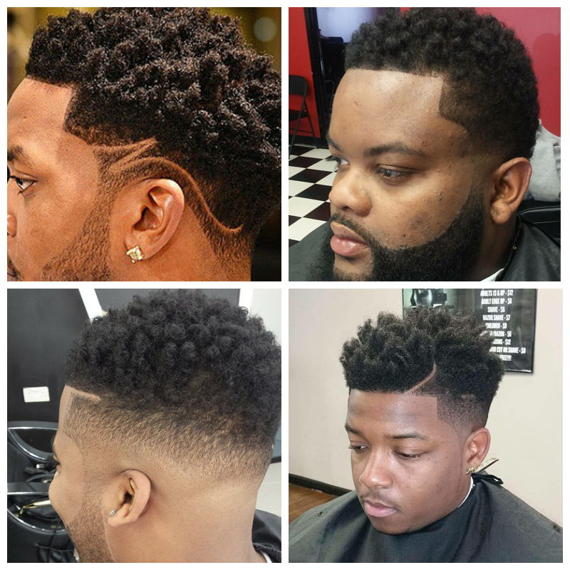 Sponge Twist : black men haircuts