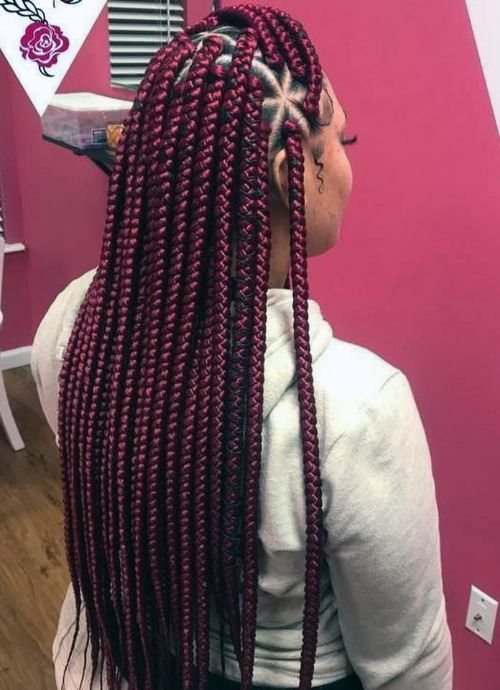 Snowflakes Box Braids