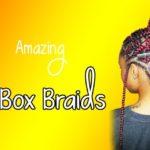 Red Box Braids ||25 Fabulous  Braided Hairstyles Ideas