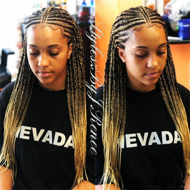 Blonde Tribal Braids