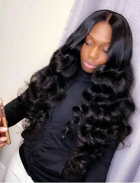 Sew-in Hair Extensions for Black Hair