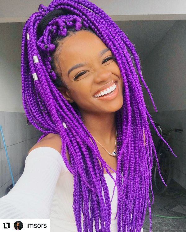 Purple Braids