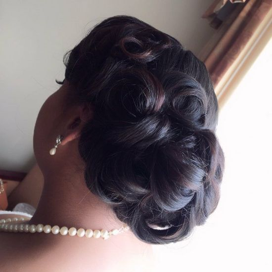 Sew in Hairstyles for Wedding