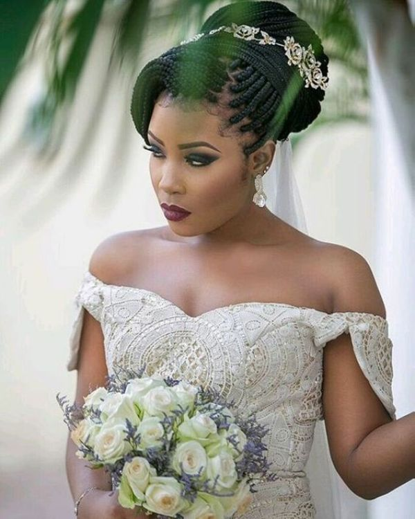 Wedding Medium Box Braids