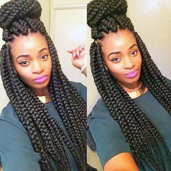 Jumbo-braids-with-topknot