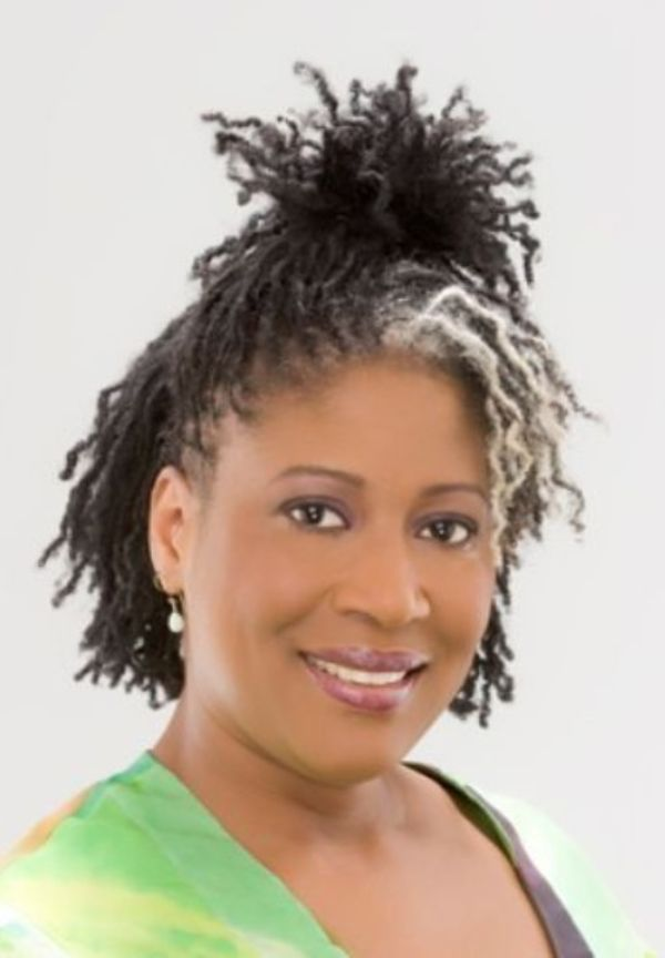 Gray Sisterlocs for Young Black Ladies