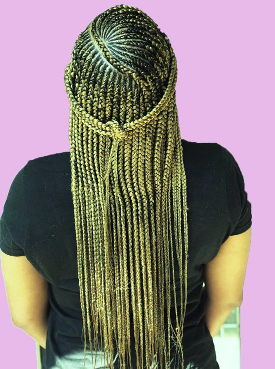 The Unseen 125 Tribal Braids For This Big Season Curly Craze