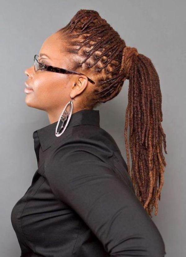 Glamorous Ponytail Hairstyles for Black Women