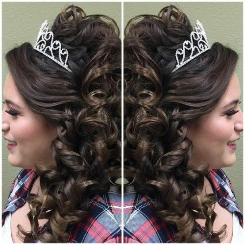 Black Girls Hairstyles for Quinceanera