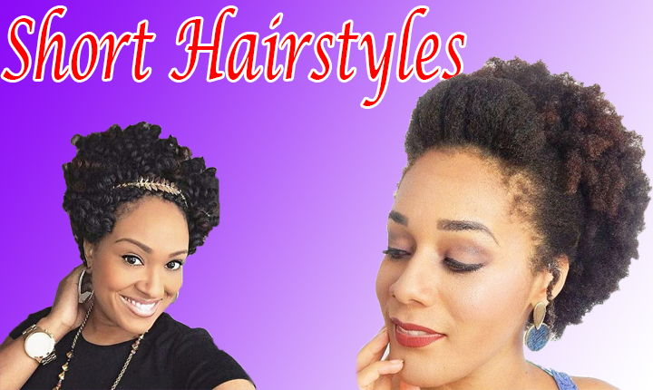 18 Short Natural Hairstyles for the Black Women