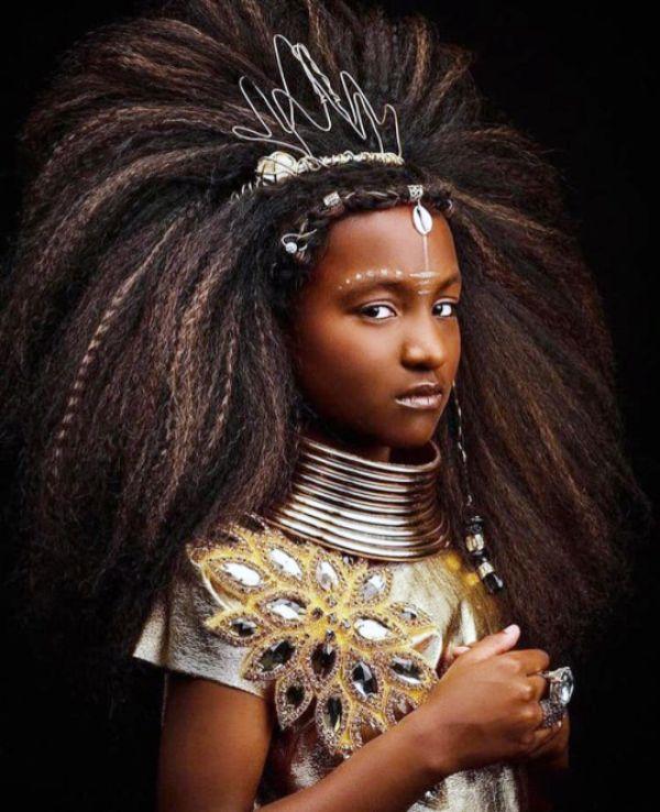 Tribal Hairdo