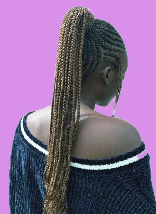 long cornrows