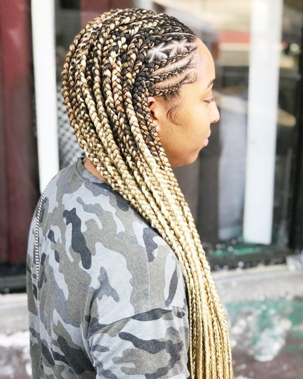 medium cornrows