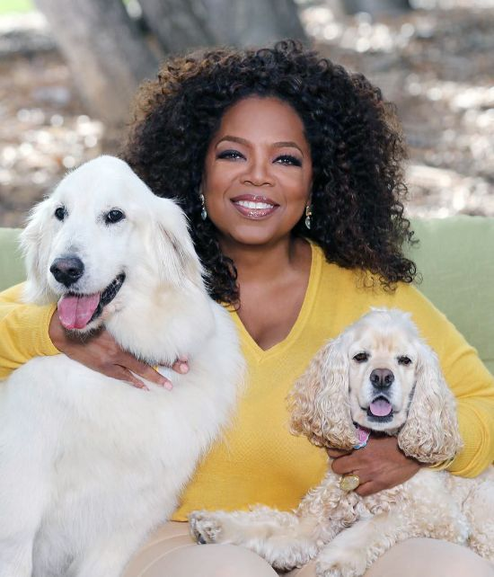 Oprah with Curls