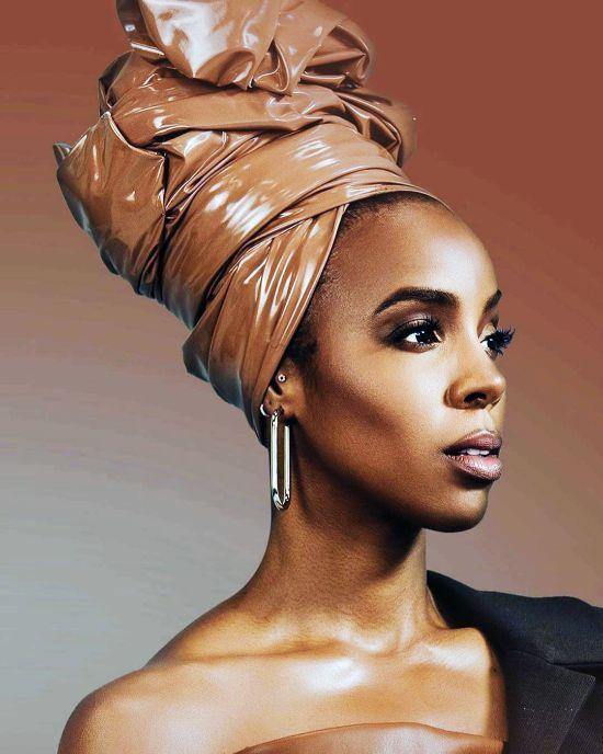 Kelly Rowland Headwrap