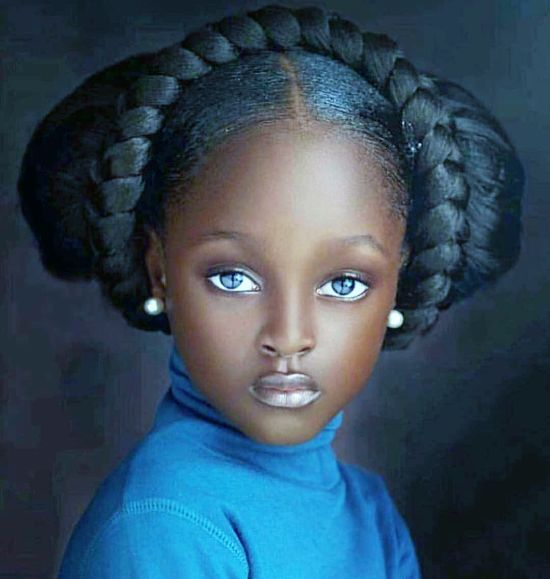 Thick Braids for Black Kids