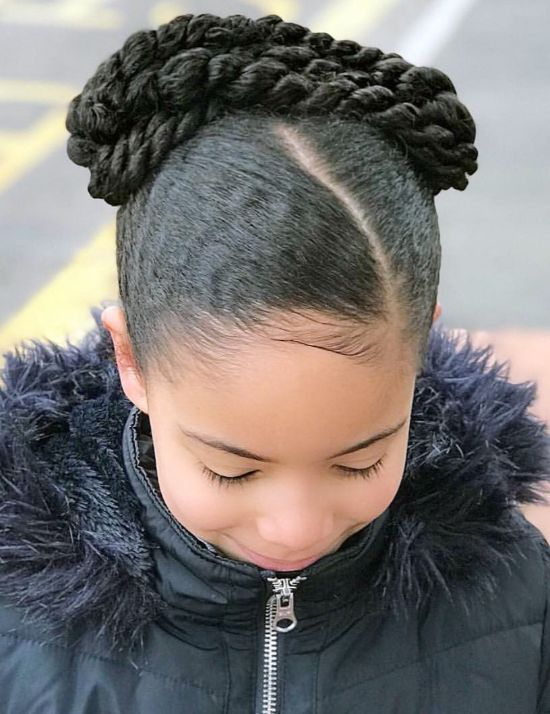 Thick Braids for Black Kids