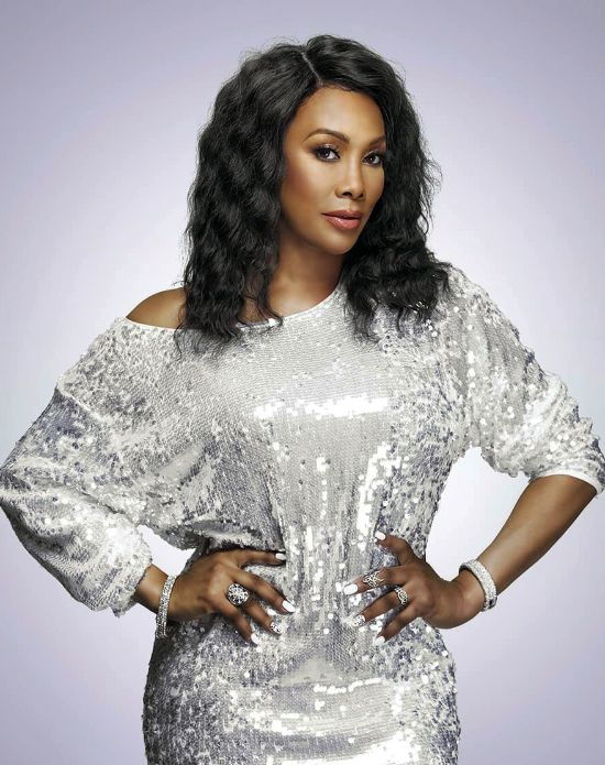 Vivica A. Fox with Wavy Bob Hairstyle