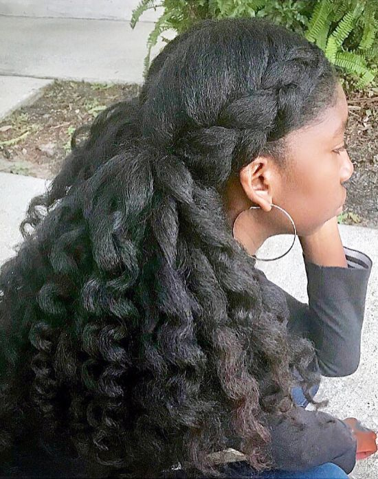 Curls and Braids for Kids