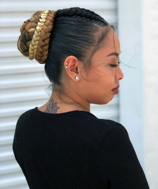 Braids and Bun