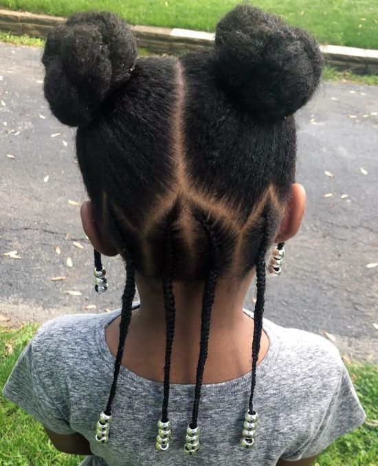 Double Knots with Braids and Beads