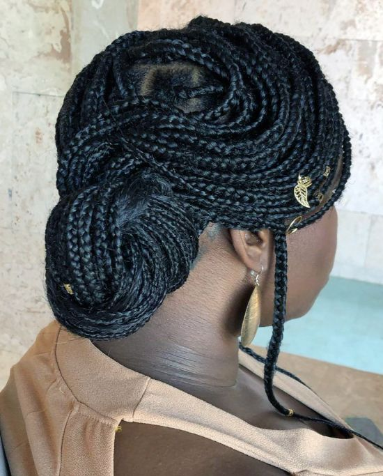 Micro Braids with Beads