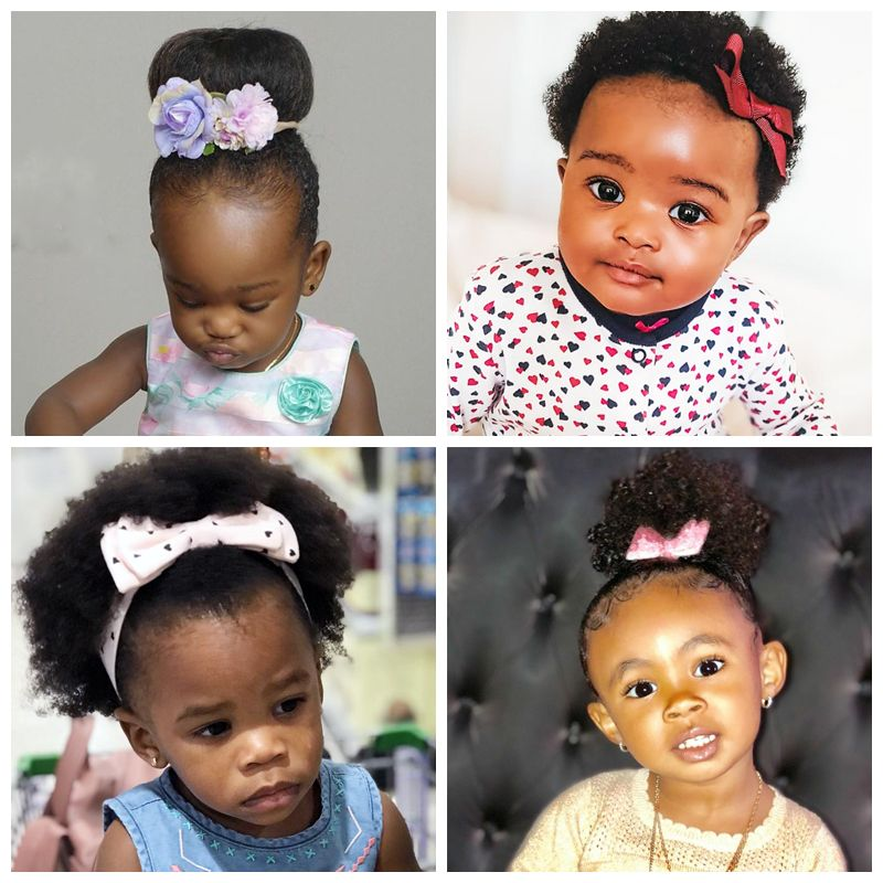 Cute Ribbon Hairstyles for Toddlers