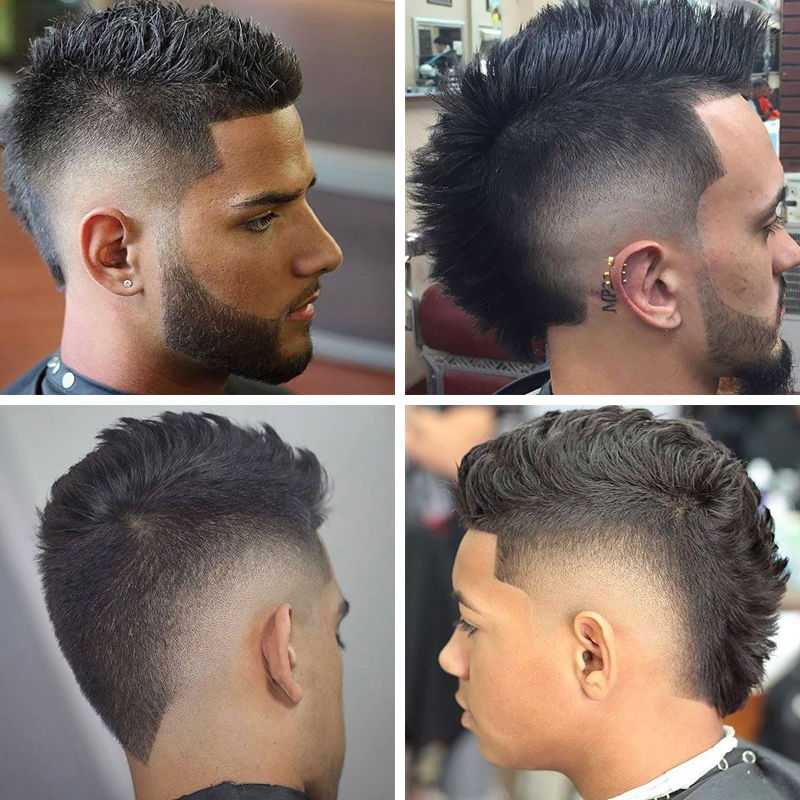 Spiky Fade Haircuts