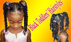 Exquisite and Exotic Hairstyles for Black Toddler