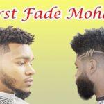 Burst Fade Mohawk   The Usher Raymond Haircuts  