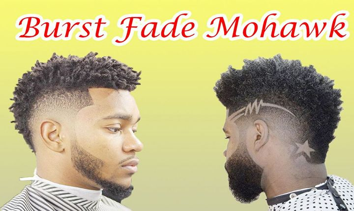 Burst Fade Mohawk | The Usher Raymond Haircuts |