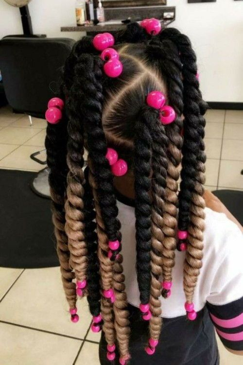 Twisted Braids and Beads