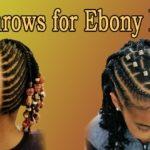 Sweet Cornrows For Cute Little Girls