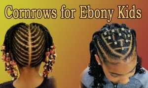 Sweet Cornrows For Cute Little Girls