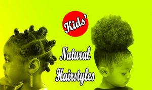 Organic Natural Hairstyles For Black  Little Girls