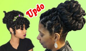 Updo Hairstyles for Black Women | The Improvised Designs