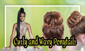 15 Eye-Catching Ways to Style Curly and Wavy Ponytails