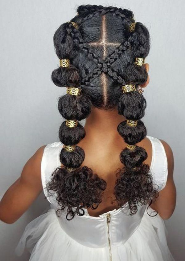Bubble Braids with Beads