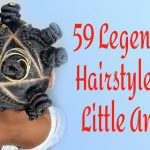 59 Legendary Hairstyles with Beads for Little Girls